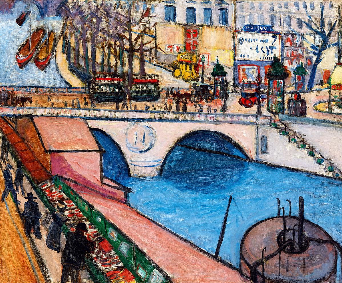 Tihanyi Lajos: Pont St. Michel (Párizs)