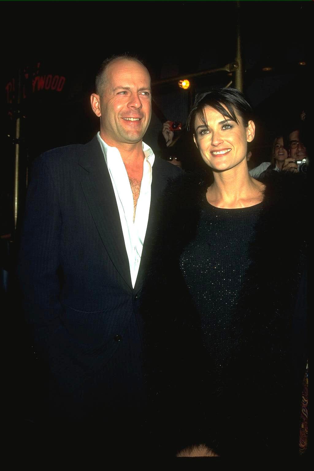 Bruce Willis és Demi Moore