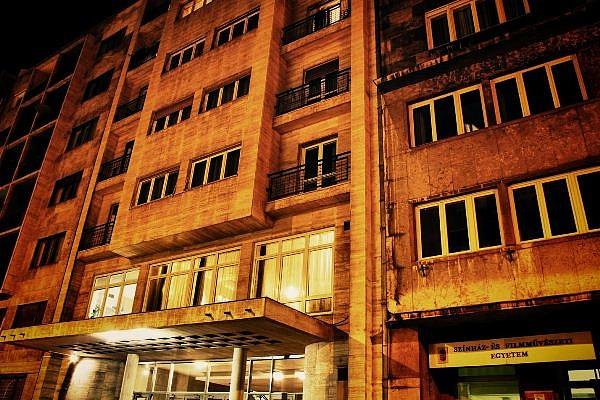 A Színház- és Filmművészeti Egyetem épülete a Vas utcában