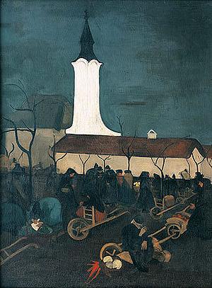 Vidéki piac 1938.