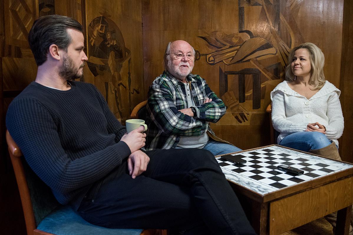Haumann Máté, Péter és Petra