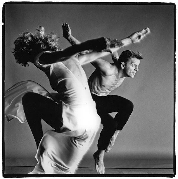 Trisha Brown és Mihail Barisnyikov