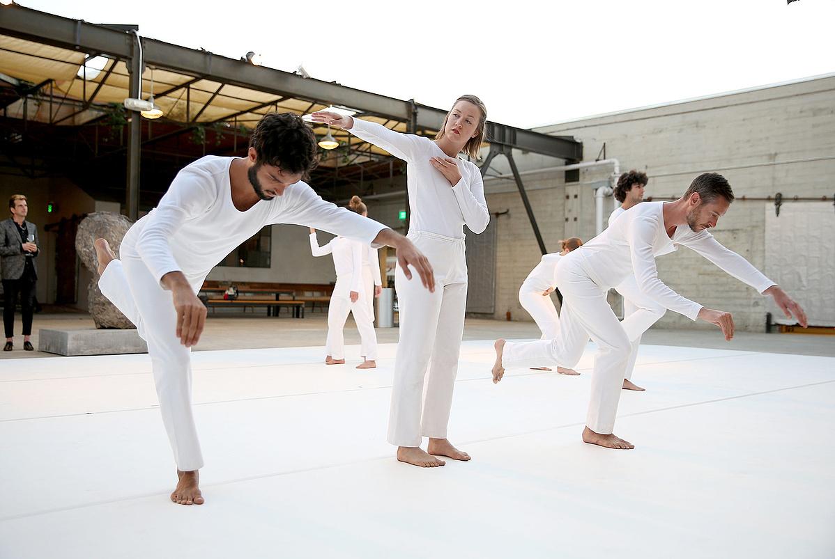 A Trisha Brown Dance Company 2017 március 12-én, Los Angelesben