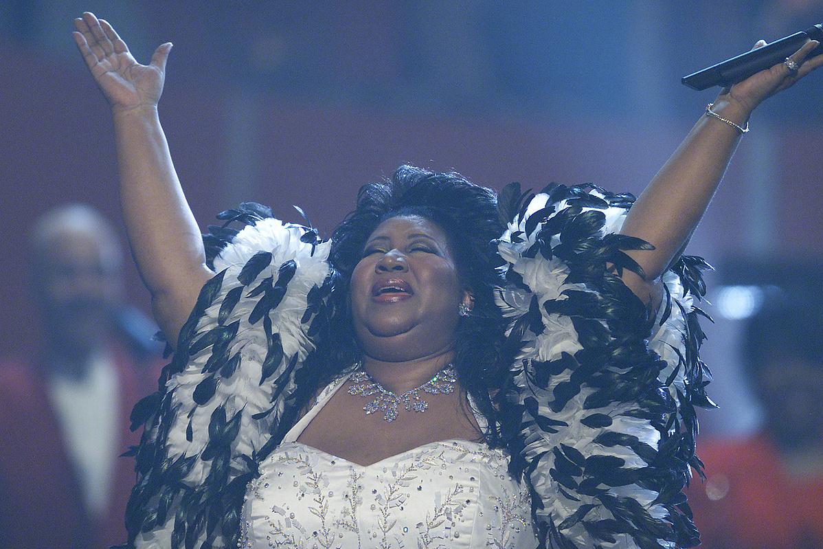 Aretha Franklin 2001-ben