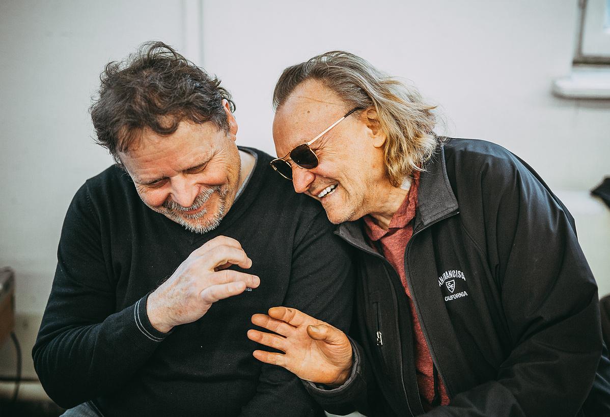 Várkonyi Mátyás és Horváth Charlie