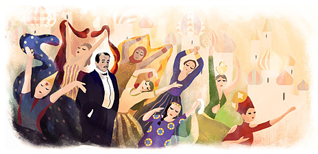 Még a Google is Gyagilevet ünnepli