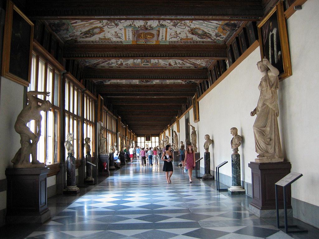 Uffizi Hallway