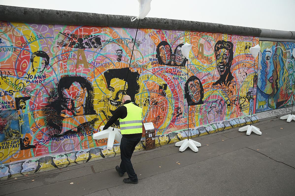 A Berlini fal részlete