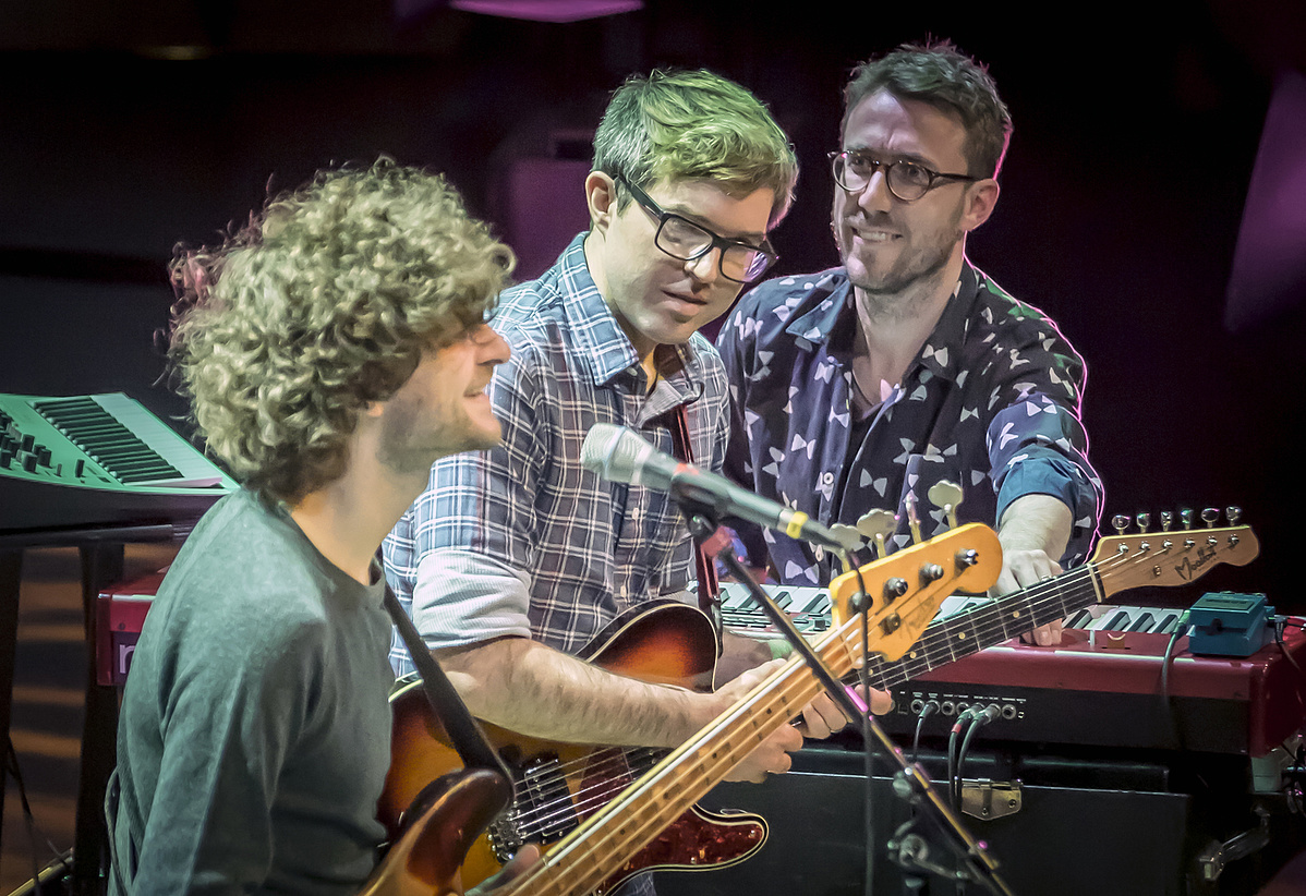 Michael League és a Snarky Puppy