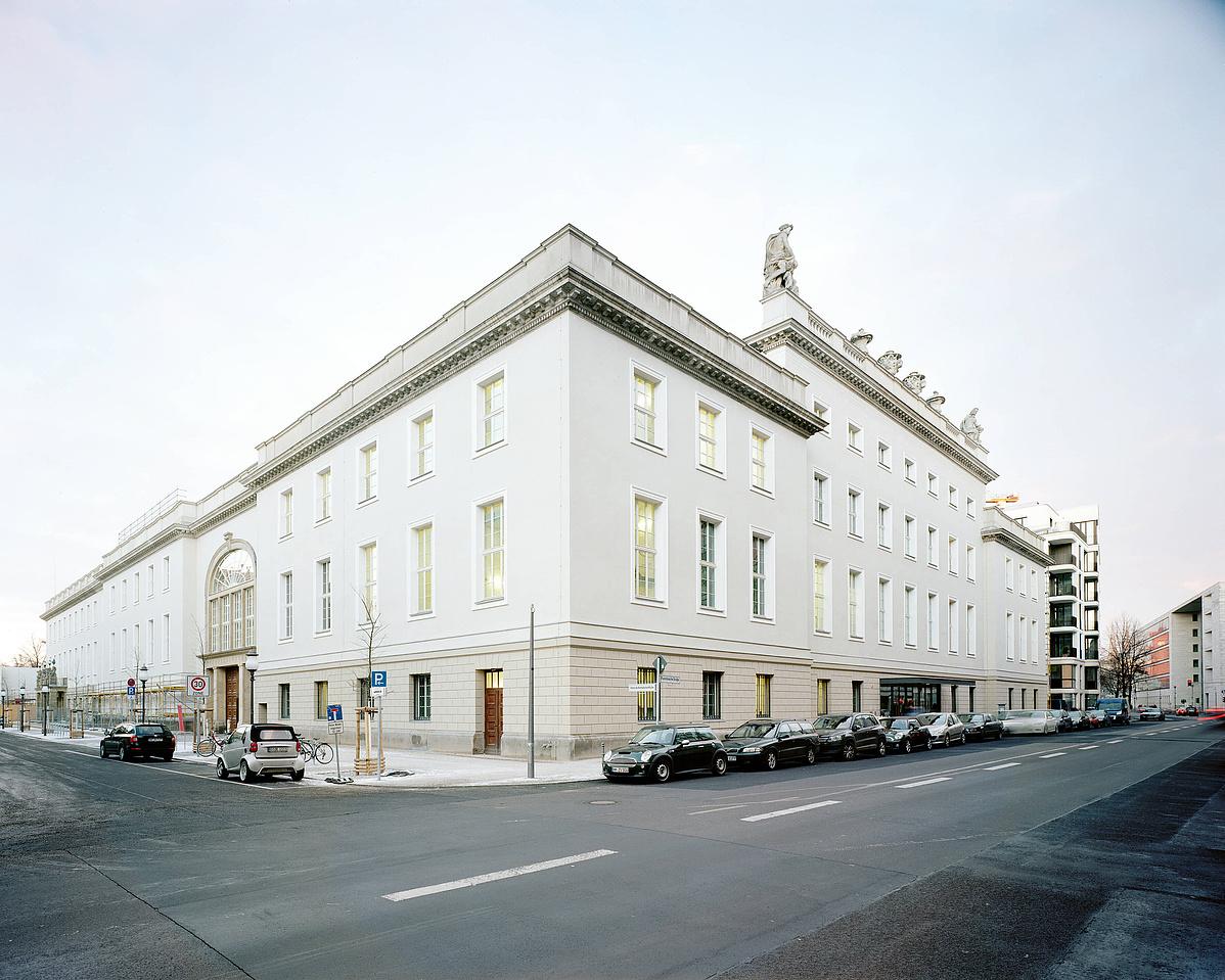 Facade Barenboim-Said Akademie