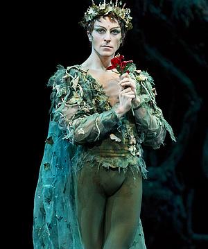 A Royal Ballet 2012-es A szentivánéji álom előadása - Steven McRae Oberon szerepében