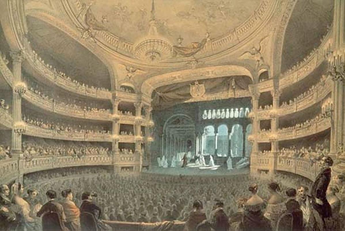 Meyerbeer Ördög Róbert című operájának bemutatója