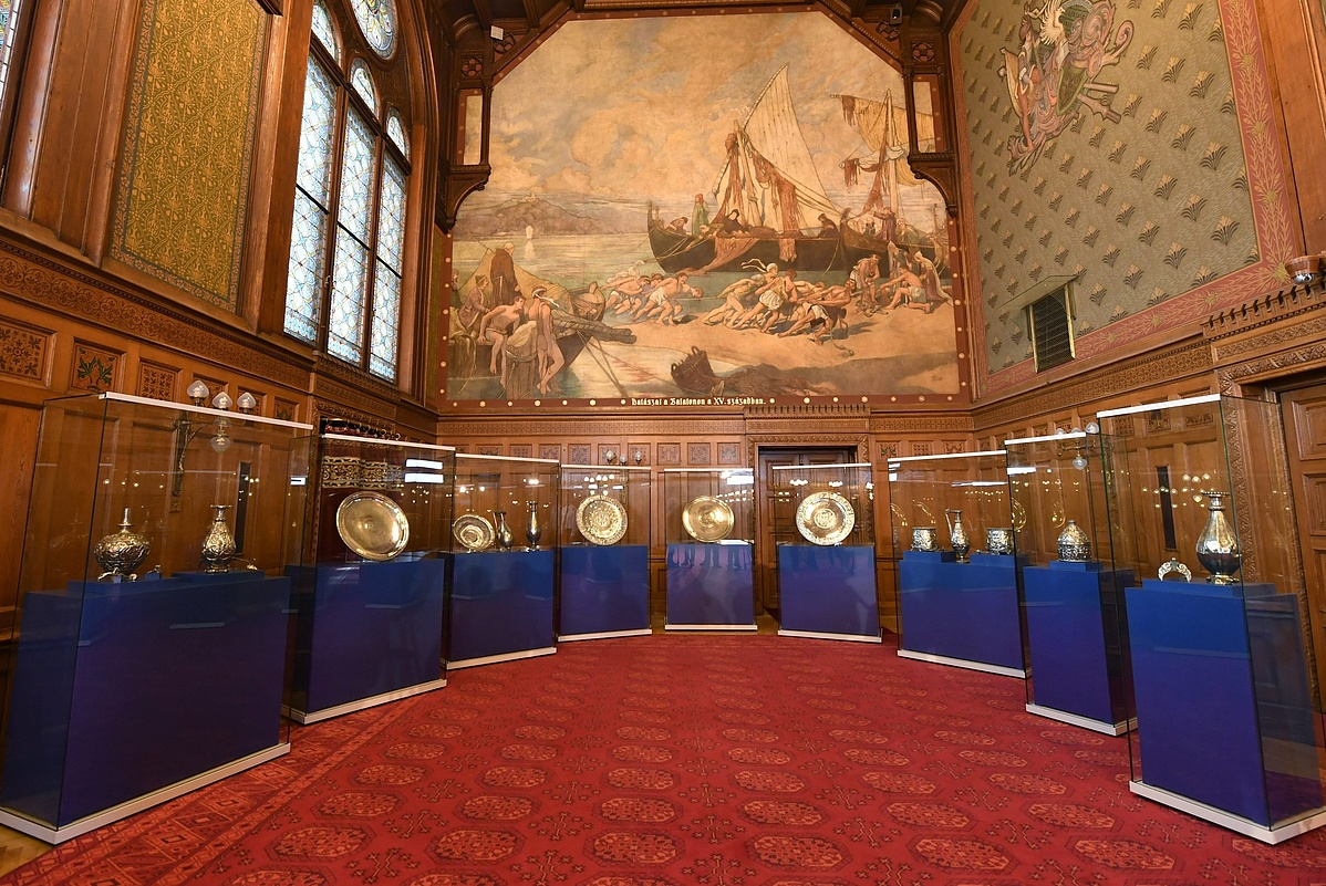 A Seuso-kincs a Parlamentben