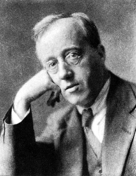 Gustav Holst legismertebb portréja