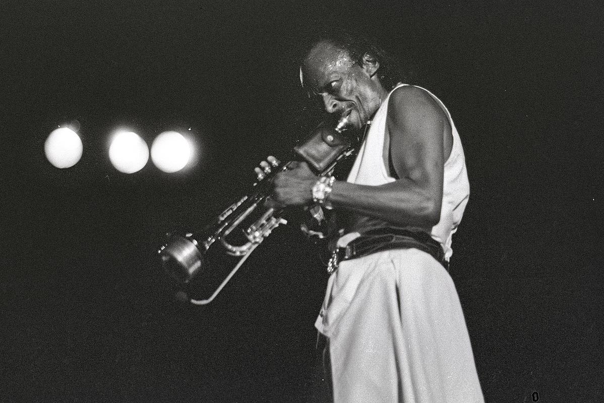 Miles Davis 1985 körül New Yorkban