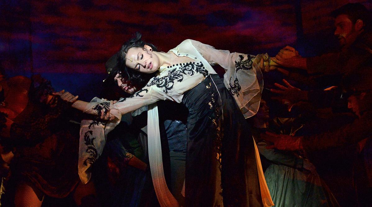 Gubik Petra az Operettszínházban
