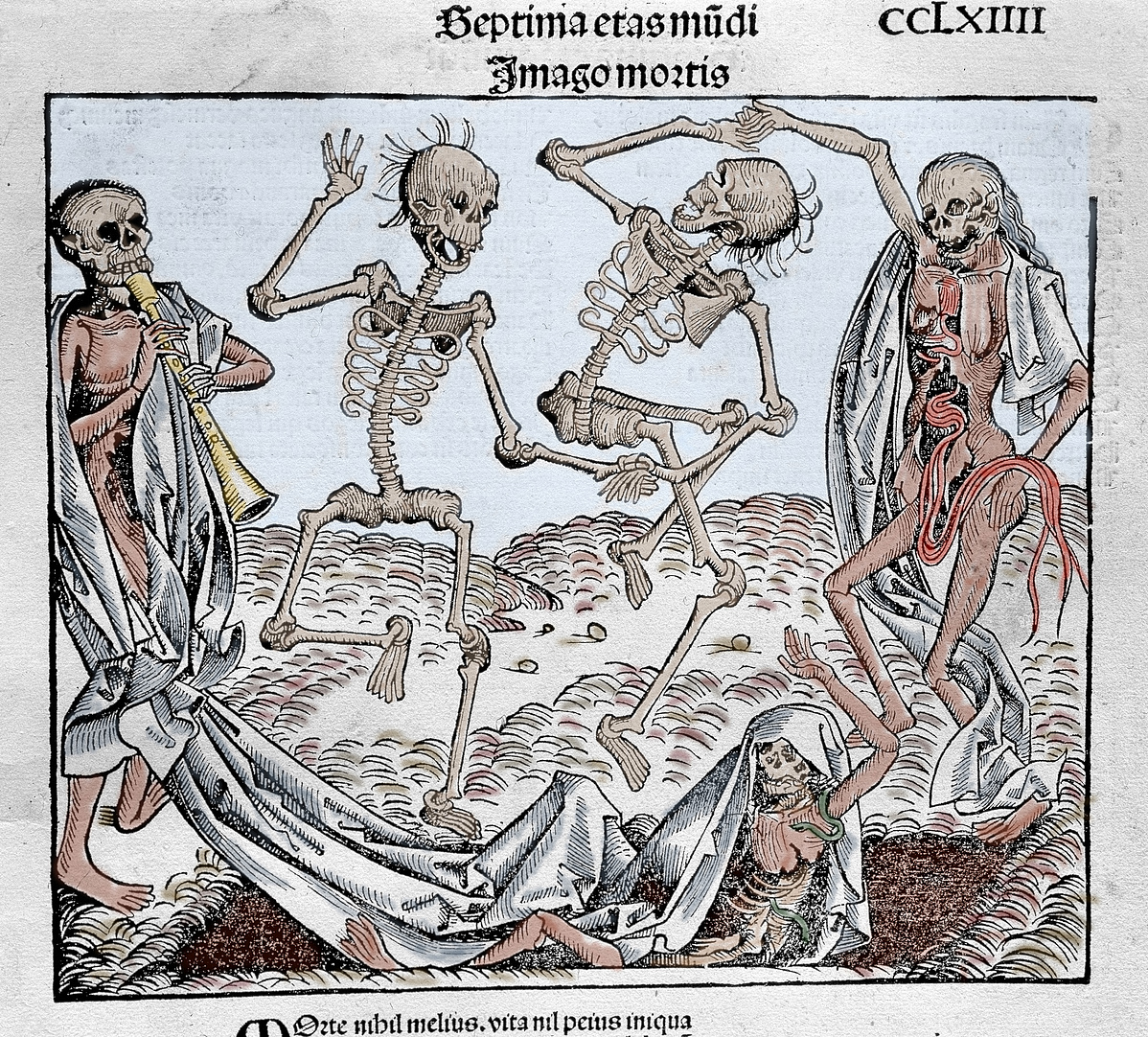 Michael Wolgemut: Haláltánc (1493)