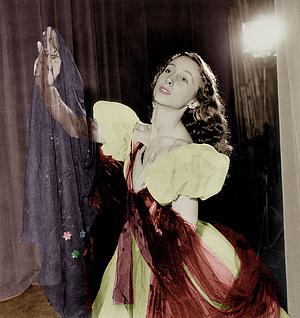 1952-ben, még a baleset előtt, egy próbán
