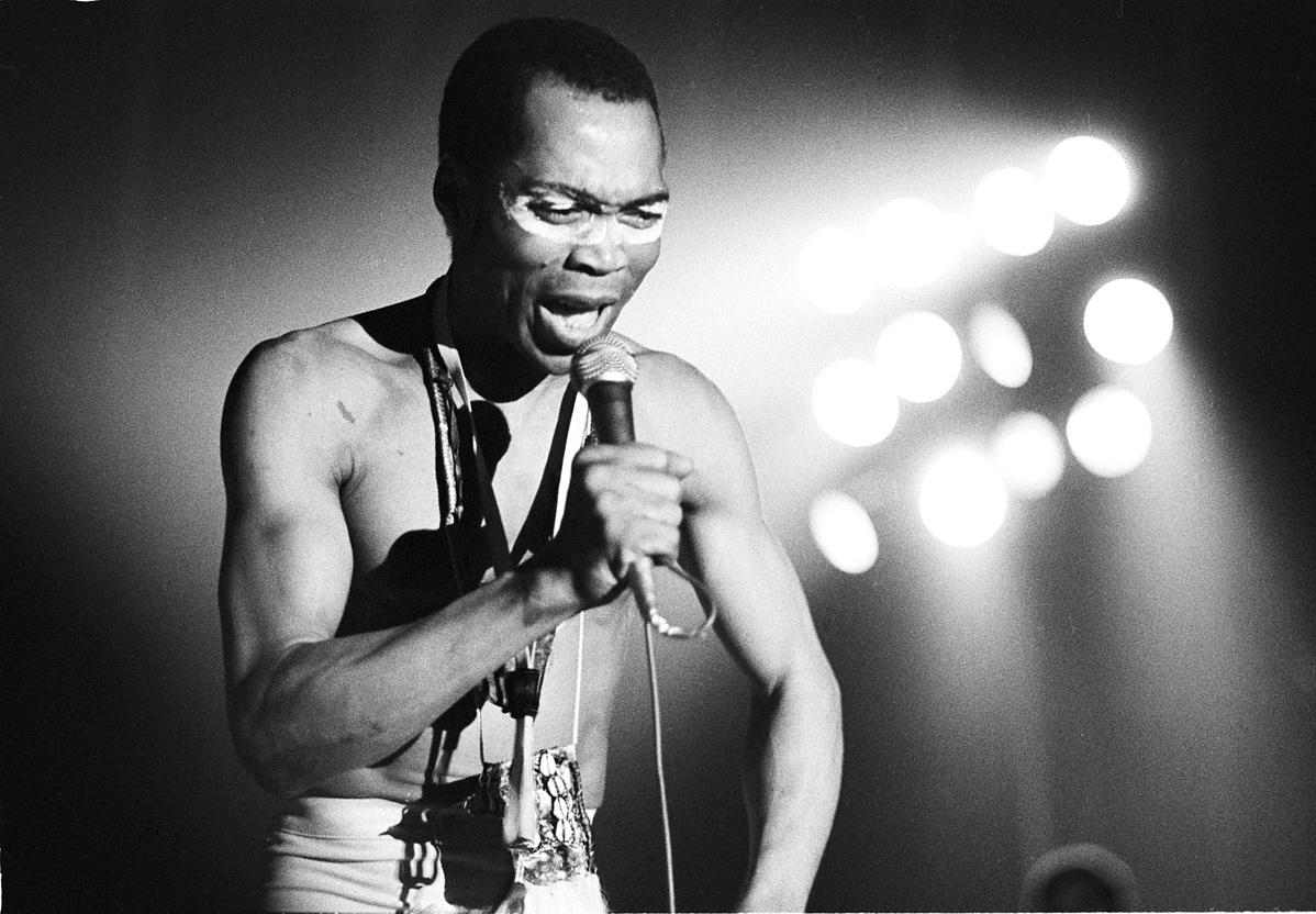 Fela Kuti 1981-ben