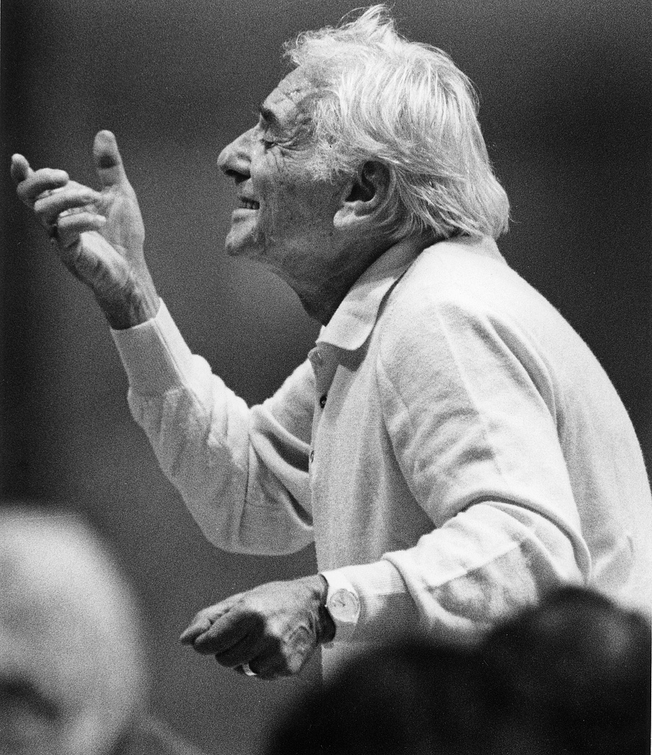 Leonard Bernstein Boston, 1988