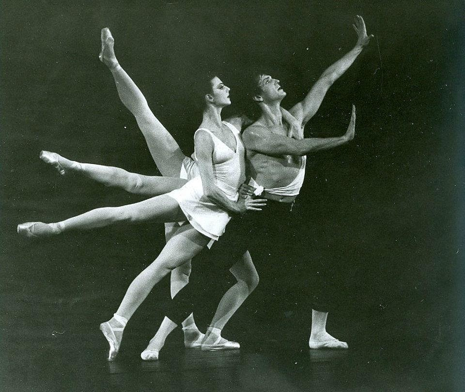 Dózsa Imre és Pongor Ildikó Balanchine Apolló-jában