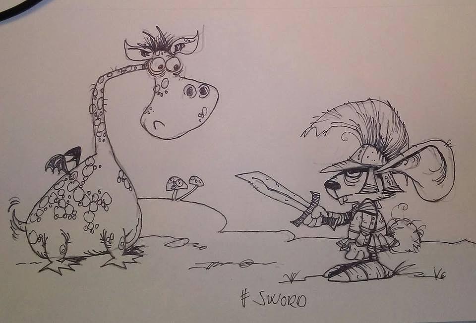 #inktober #sword