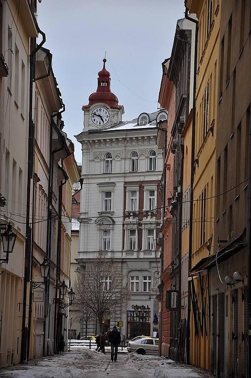 Az egykori U Šturmu helye, Óváros, Prága