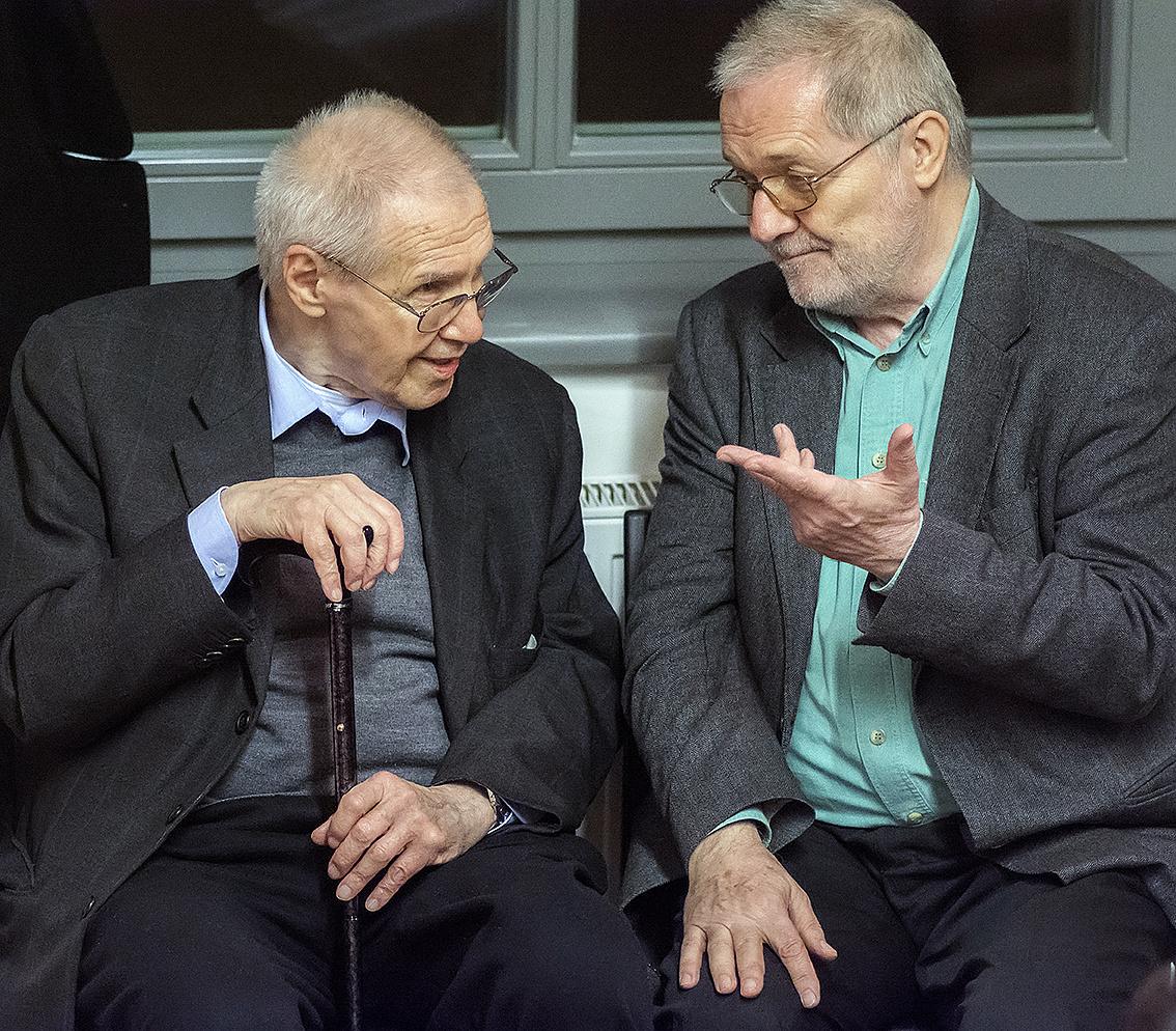 Kurtág György és Eötvös Péter