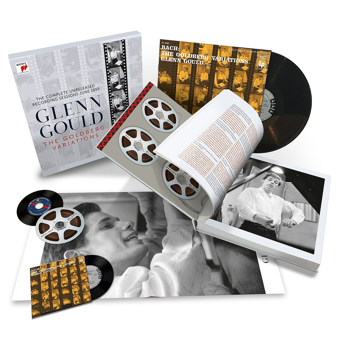 Glenn Gould - The Goldberg Variations - The Complete Unreleased Recording Sessions June 1955