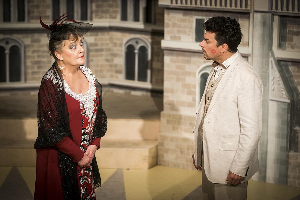 Egri Kati és Dányi Krisztián - Mária Eleonóra főhercegnő és György főherceg