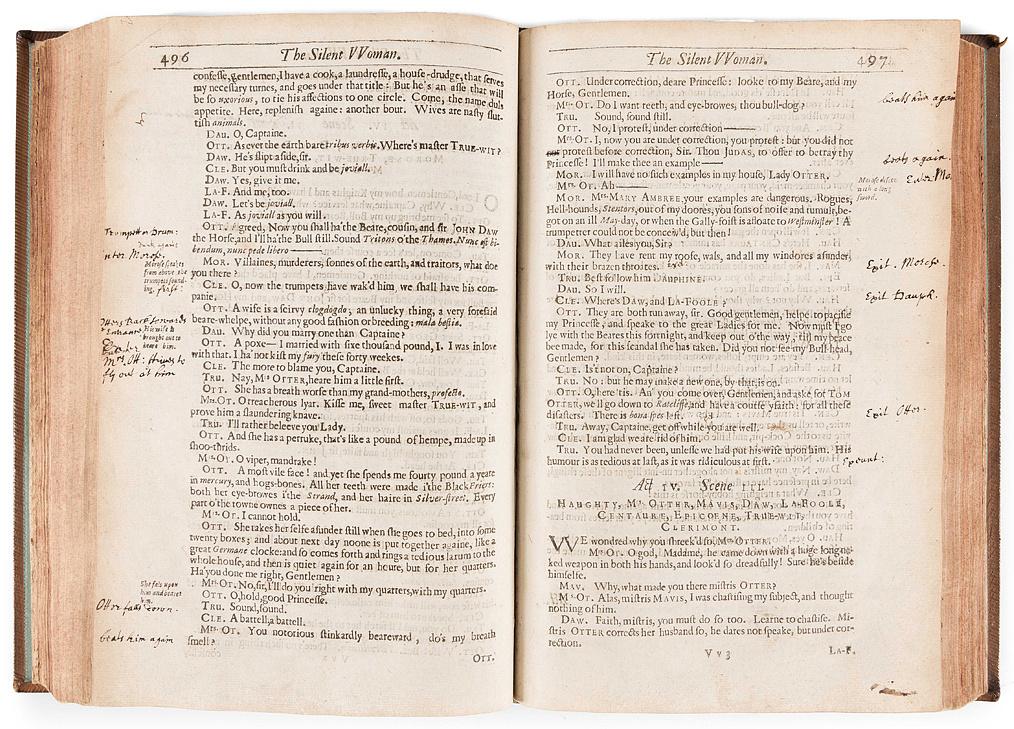 Ben Jonson The Silenc Woman című művének jegyzetekkel ellátott kiadása