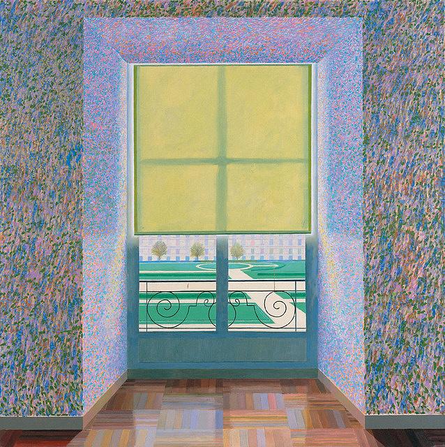 David Hockney: Ellenfény francia stílusban (1974)