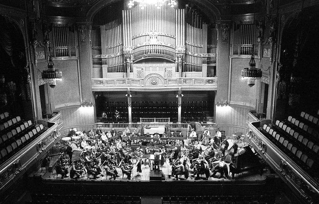 Bartók zongorázott először a Zeneakadémia nagytermében