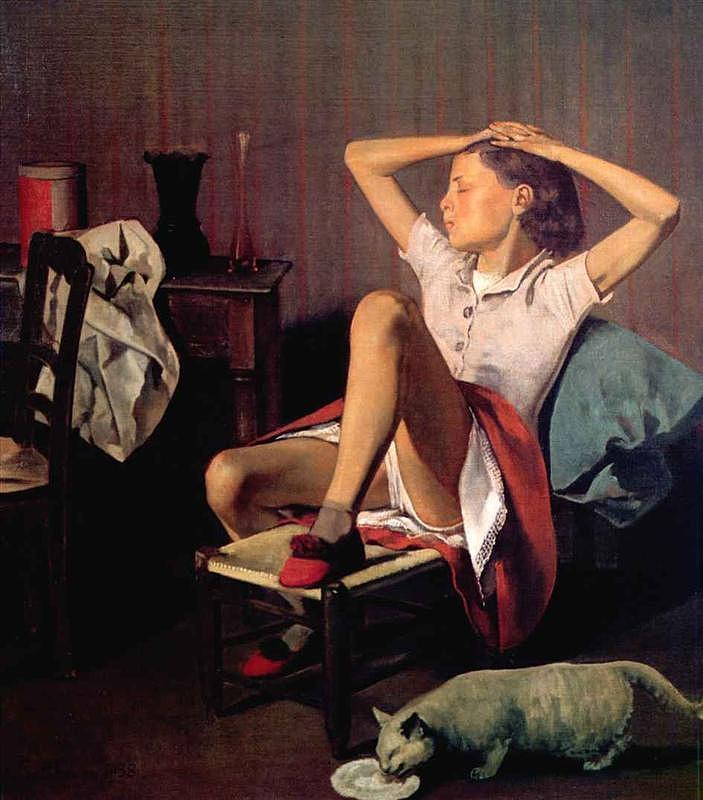 Balthus: Thérèse álmodik