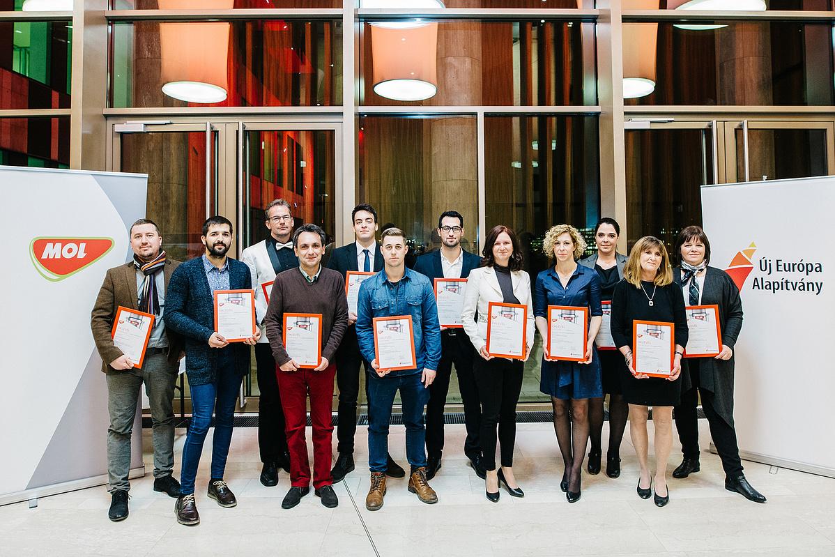 A Média a Tehetségekért Díj 2017-es kitüntetettjei