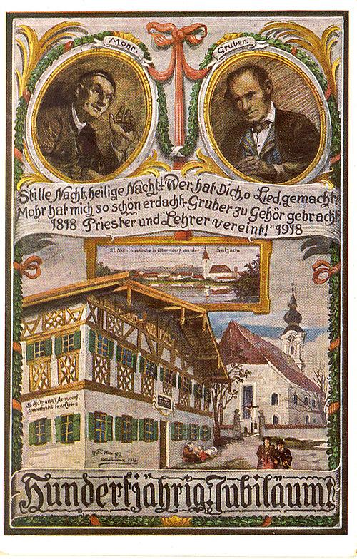 A dal születésének jubileumára készült képeslap