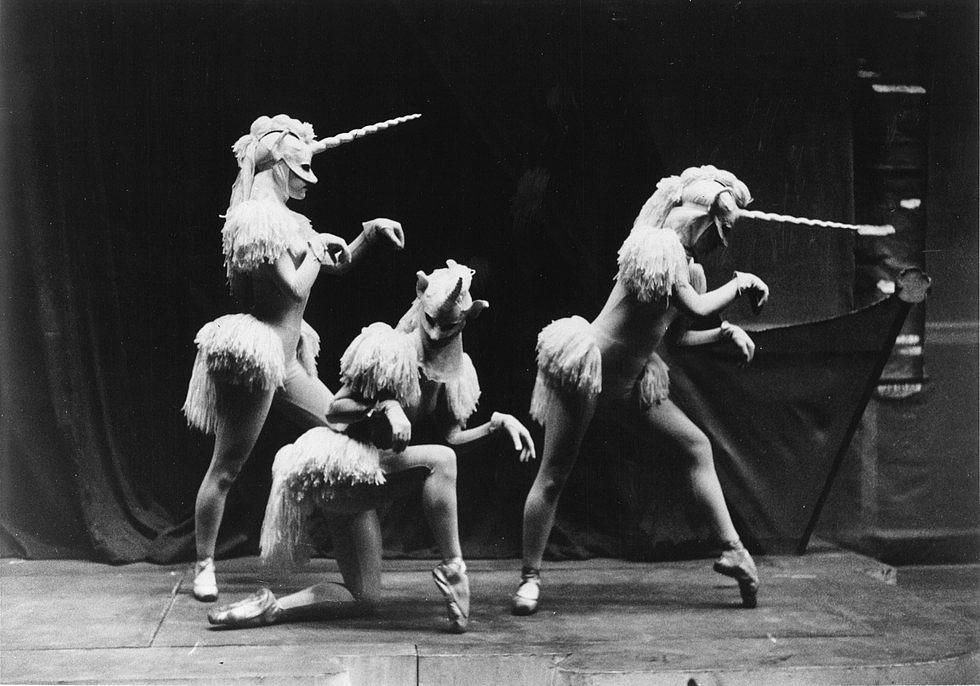 A nap, amikor unikornisok táncoltak a balettszínpadon