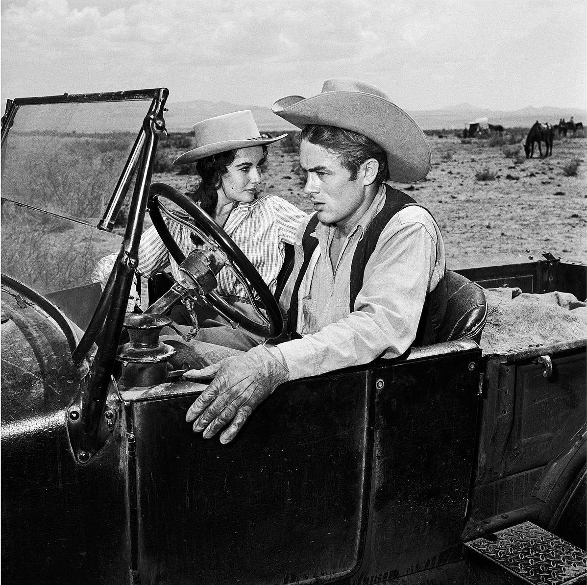 Elizabeth Taylor és James Dean