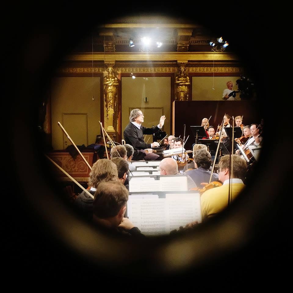 Riccardo Muti már próbál a bécsi újévi koncertre - Fotók!