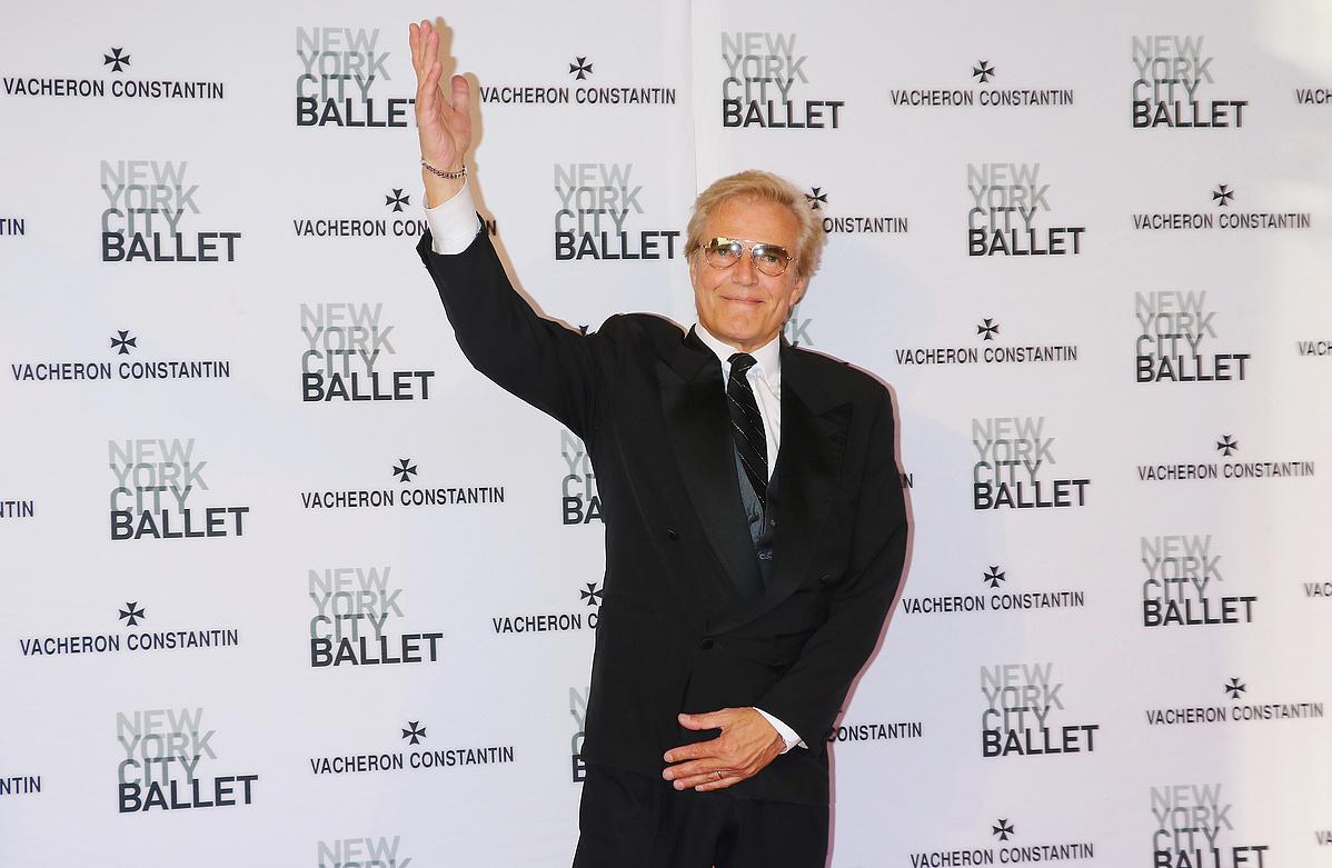 Peter Martins nemrég még ily vidáman pózolt a The New York City Ballet gáláján