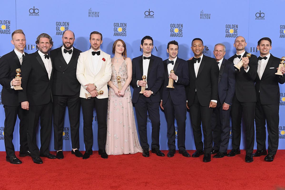 A Kaliforniai álom stábja a tavalyi Golden Globe díjátadón