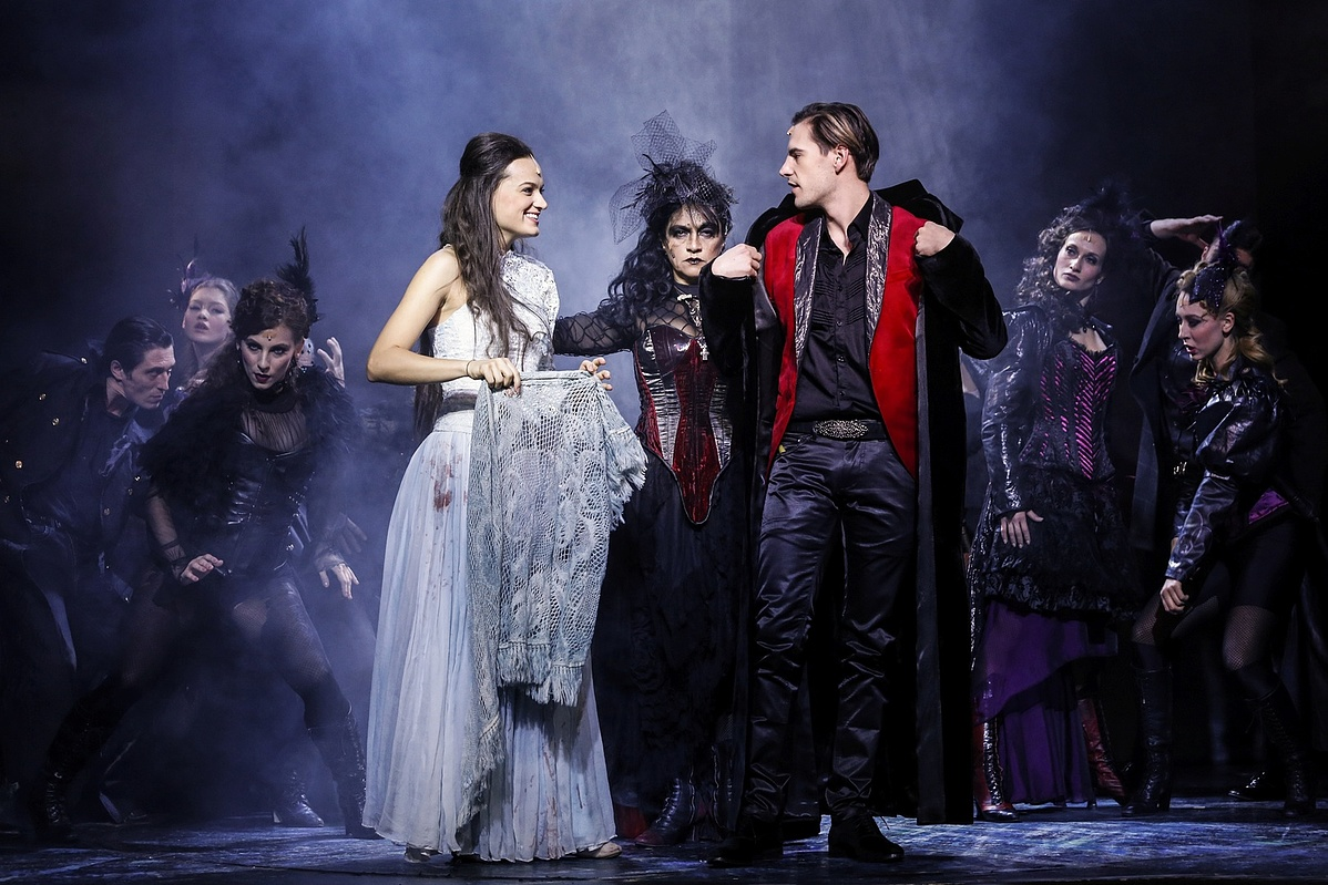 A Dorian Gray próbái az Operettszínházban