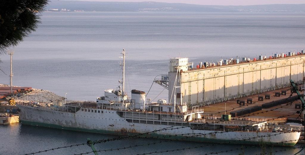 Galeb a dokkban, Horvátország, 2008