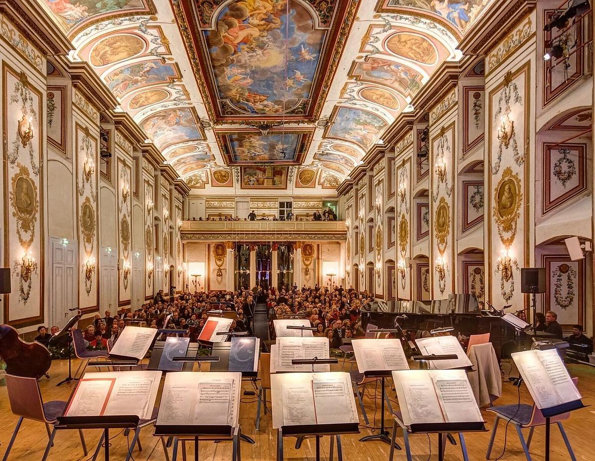 Az Esterházy-kastély Haydn-terme