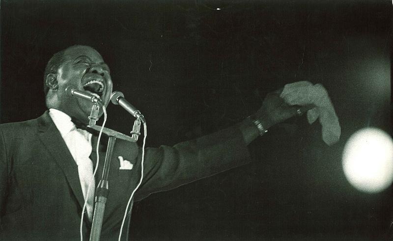 Louis Armstrong Budapesten, 1965.