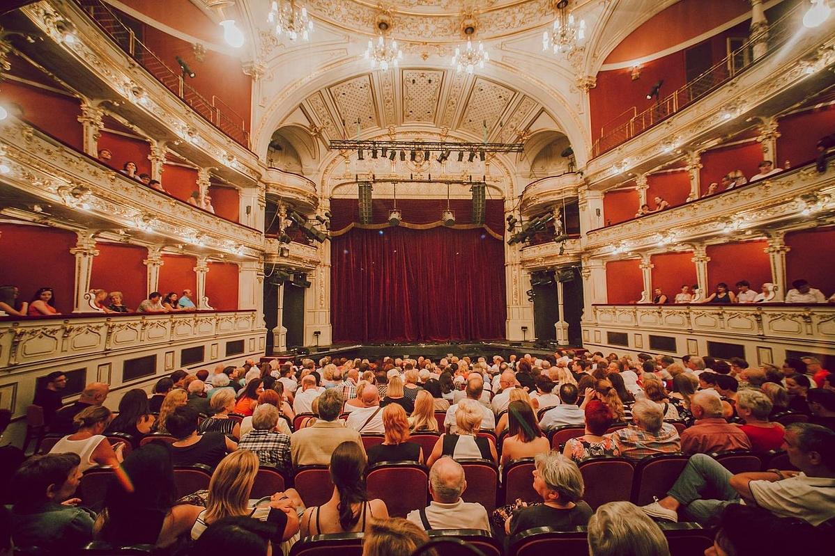 A Pécsi Nemzeti Színház nézőtere