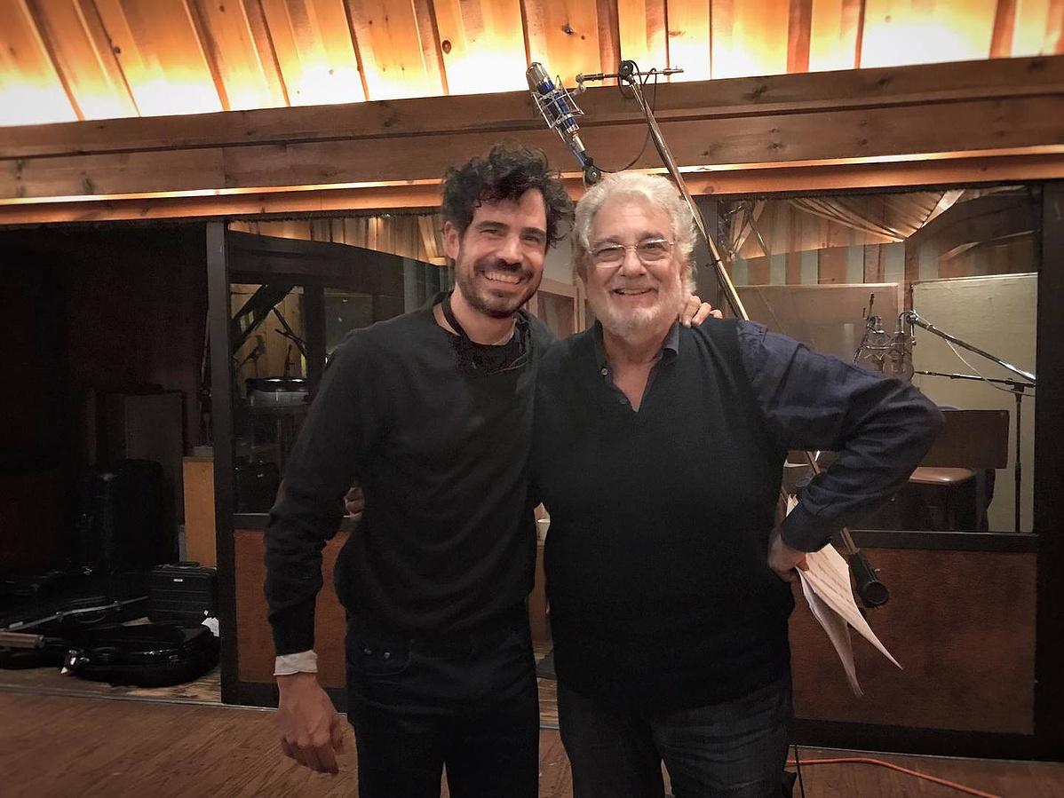 Pablo Sáinz Villegas & Plácido Domingo