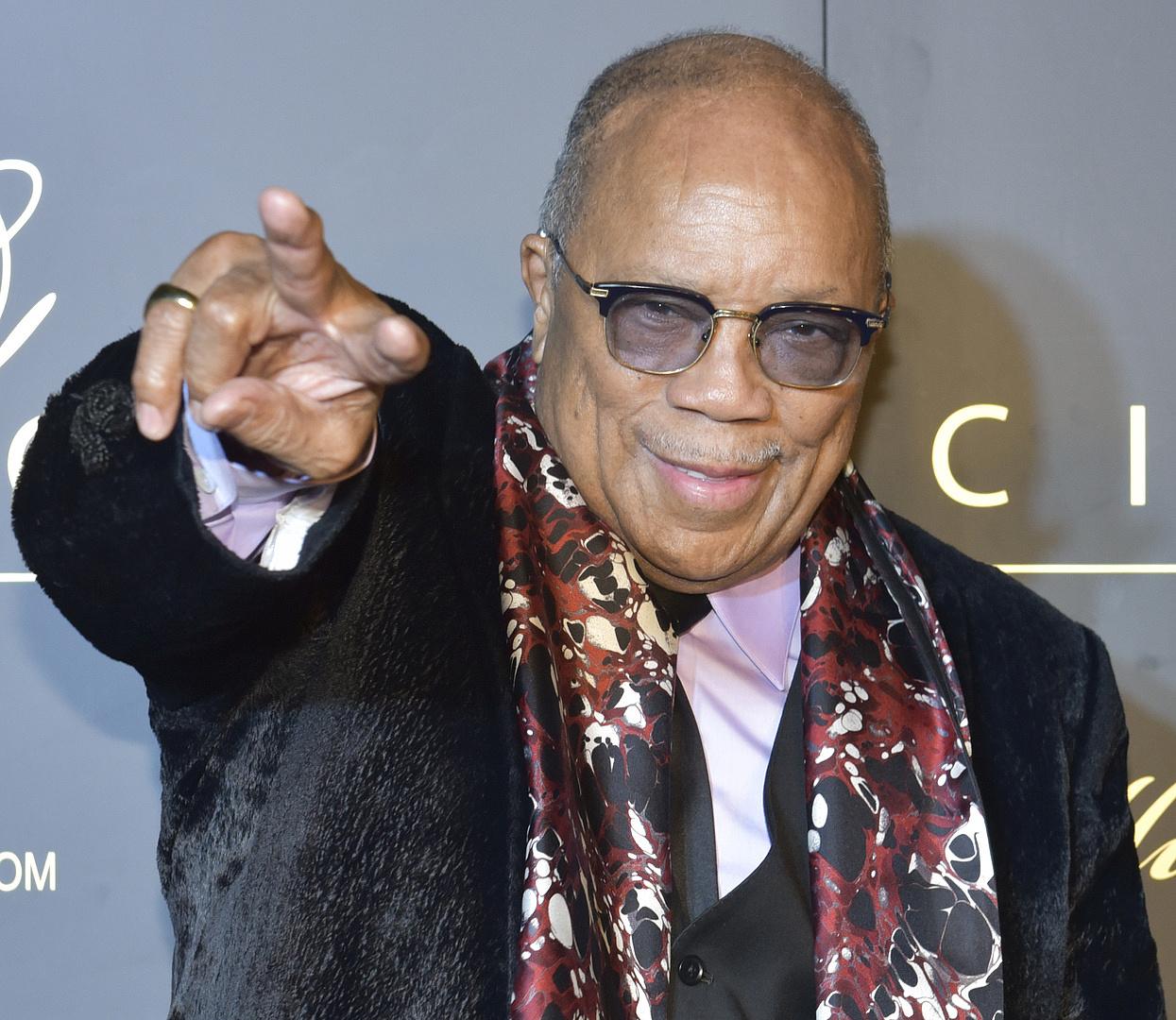 Quincy Jones mindenkit leszólt, csak a jazz-zenészeket kímélte