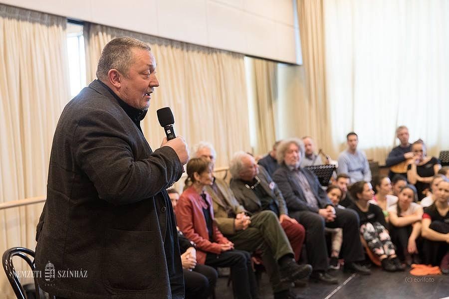 Vidnyánszky Attila az Egri csillagok c. előadás sajtótájékoztatóján