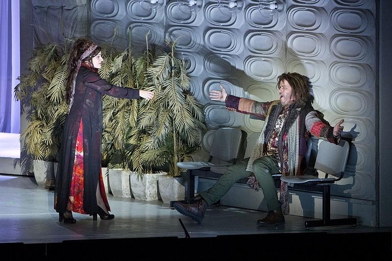 Létay Kiss Gabriella (Bess) és Palerdi András (Porgy)